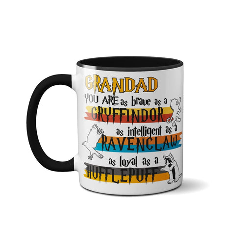 Fathers Day Cute Novelty Funny Ceramic Mug - Grandad You're My Favourite Muggle