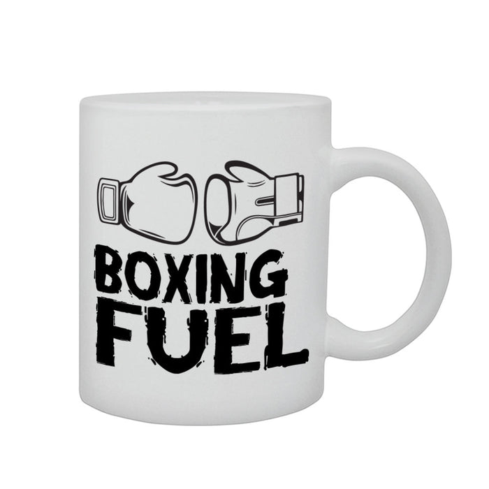 Boxing Fuel Sports Professional Boxer Gift Graphic Printed Mug