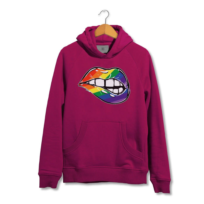 LGBT Pride Sexy Lips Hoodie - Present Gift - Celebration Festival Parade