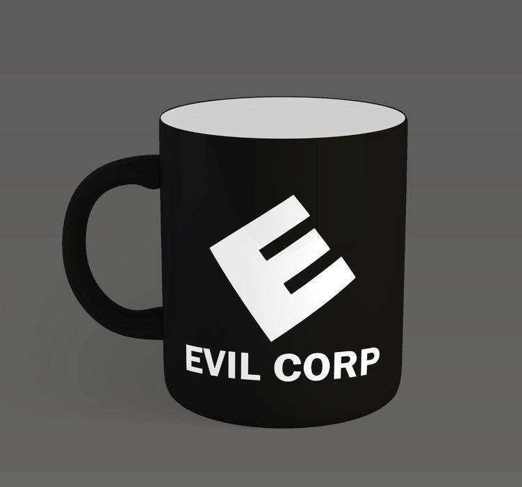 """ Evil Corp "" Mr Robot Company Tv Show Inspired Ceramic Cup Mug"