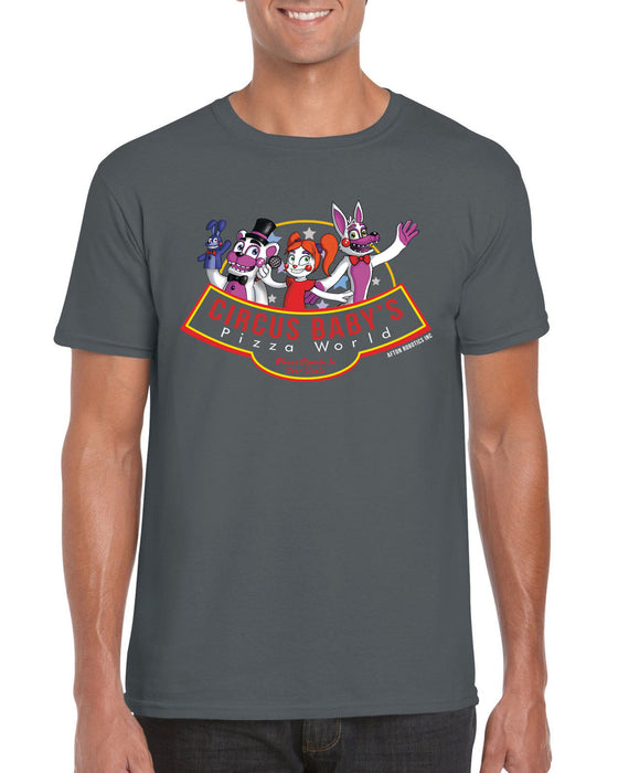 Circus Baby's Pizza World FNAF Sister Location Video Game Inspired T Shirt