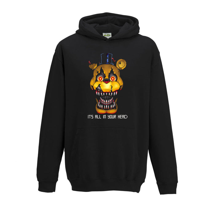 Children's The Bite of '87 1987 FNAF Nightmare Freddy Five Inspired Hoodie