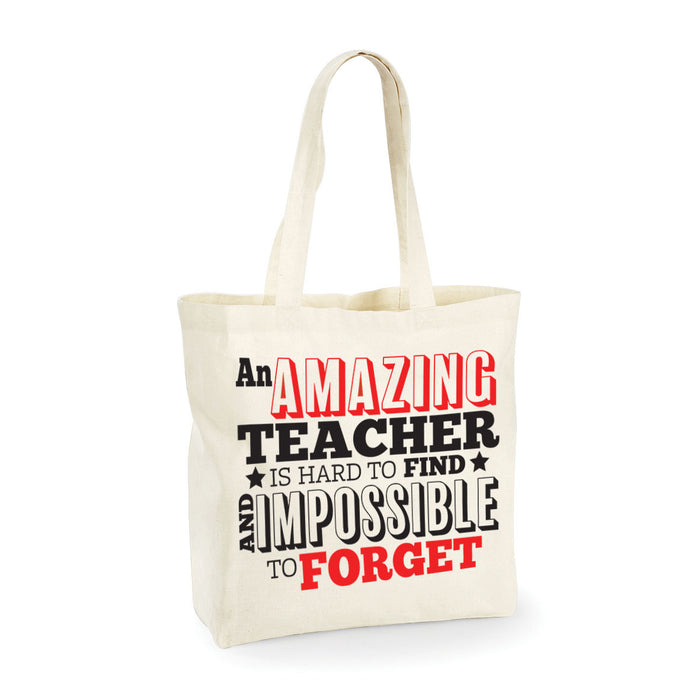Amazing Teachers Leavers School Present End of Year Present Tote Bag