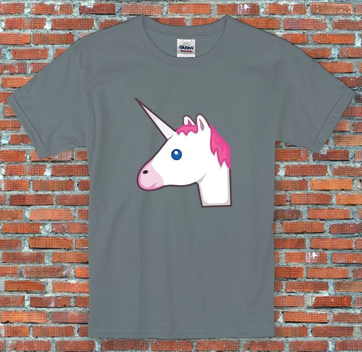 Emoji Unicorn Messenger Facebook Instagram Inspired Unisex T-Shirt S-2XL
