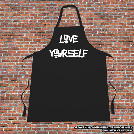 """LOVE YOURSELF"" Apron. Cooking. Kitchen.Justin Bieber"