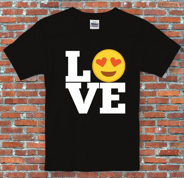 Emoji LOVE Messenger Facebook Instagram Inspired Unisex T-Shirt S-2XL