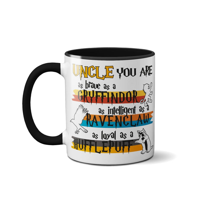 Fathers Day Cute Novelty Funny Ceramic Mug - Uncle You're My Favourite Muggle