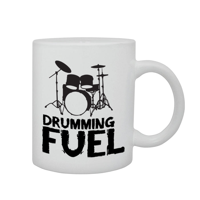 Drumming Fuel Music Musician Drummer Drums Gift Graphic Printed Mug