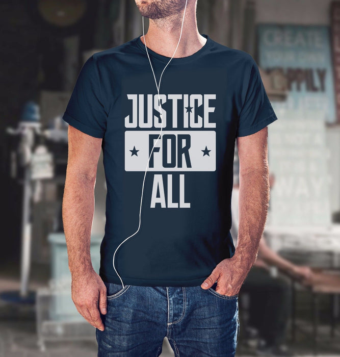 Justice for All  -  Justice League Movie Comic DC inspired T-Shirt