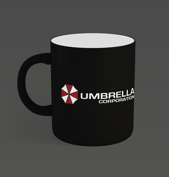 Umbrella Corporation Resident Evil Zombies Game Movie Inspired Ceramic Cup Mug