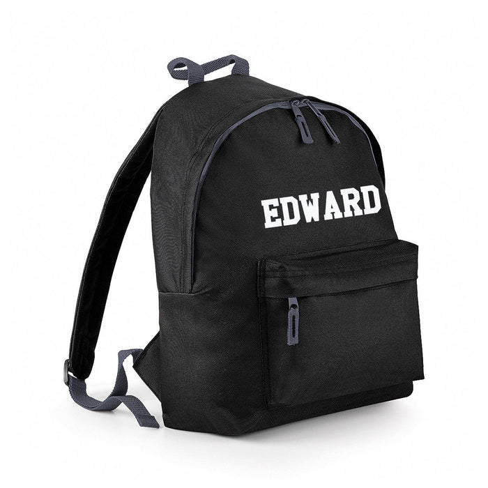 Personalised Custom Customised Name Boys / Girls School Bag Rucksack Backpack