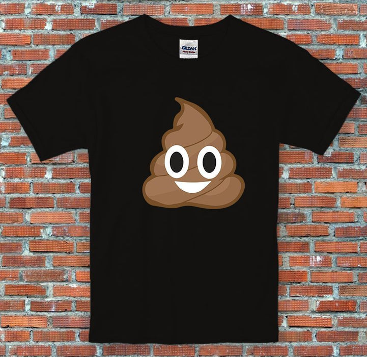 Emoji Poop Messenger Facebook Instagram Inspired Unisex T-Shirt S-2XL