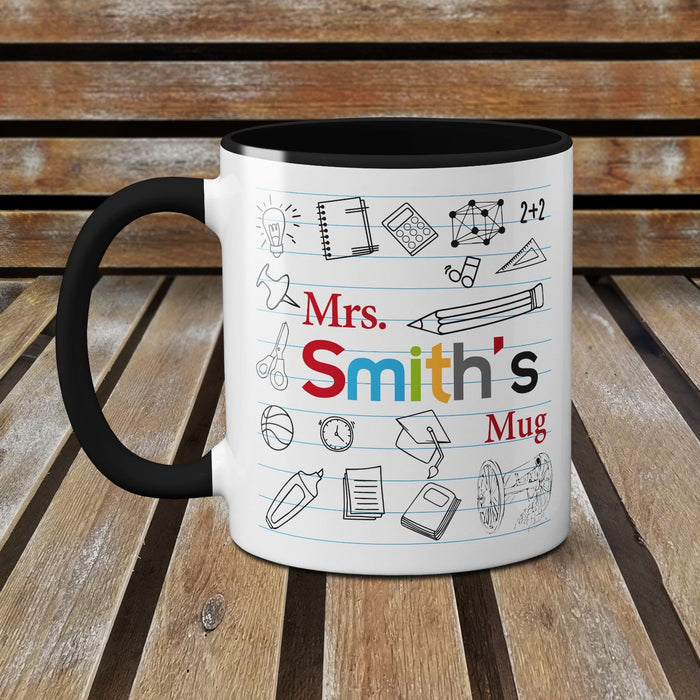 Personalised Teachers Mug End Of Year Special Cute Leaving Present Coffee Cup