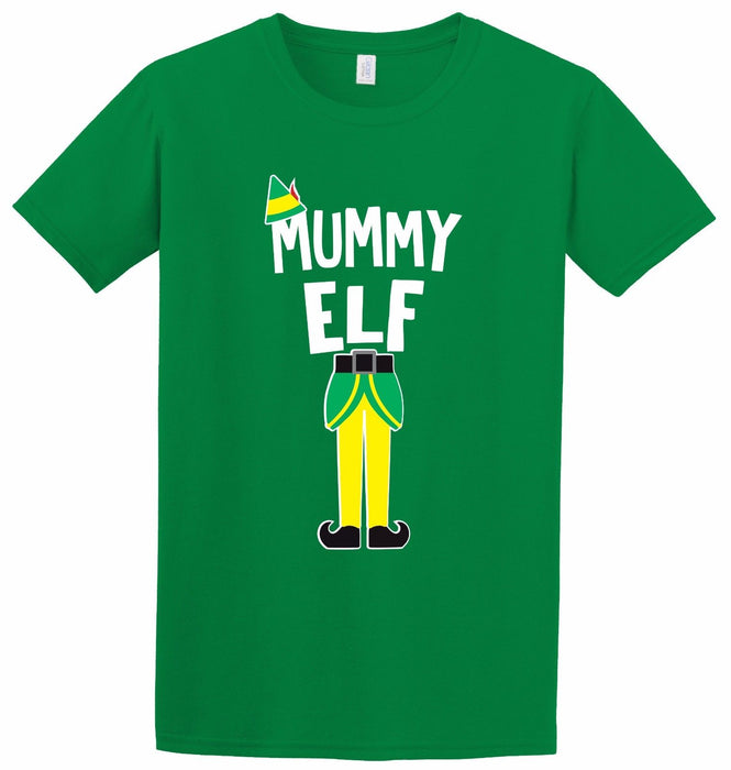 Elf Family Tee Mummy Daddy Kids Little Big Christmas Movie Gift Inspired T-Shirt