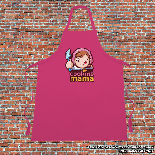 Cooking Mama Apron Mothers Day Video Game Inspired Kitchenware