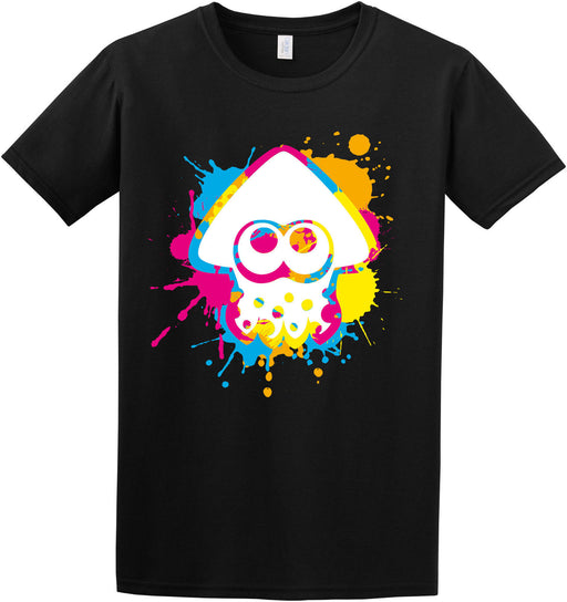 """ Inkling Colour Ink Splat "" Splatoon Switch Game Inspired Kids Adult T-shirt"