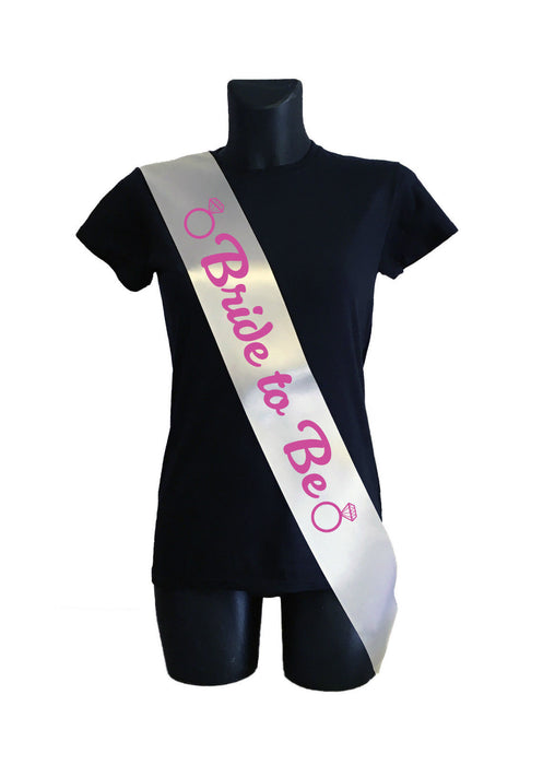 Personalised Sash (Hen Party / Do / 18th / 21st Birthday) Custom UK Printed