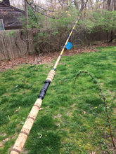 "6'6"" MTK Custom Conventional Boat Rod Raddle Snake overlay RS-66-01"