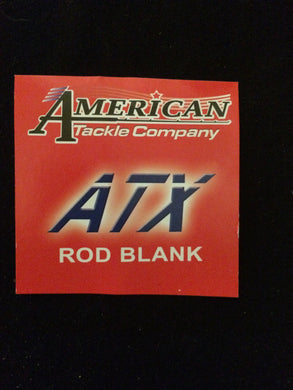 AMERICAN TACKLE  ATX ROD BLANKS