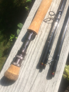 Saltwater 9w 4 piece 9' Fly Rod Matrix MAFS909-4 -FL-909-02