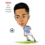 Football Caricatures