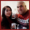 Caricatures on mugs