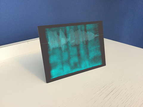 desktop sound shadow sound art