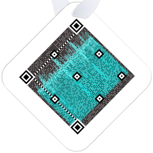 Sound Shadow Diamond Tag - Link-11 Turquoise