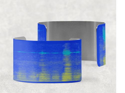 Your Sound on a Cuff Bracelet - Elegant Design