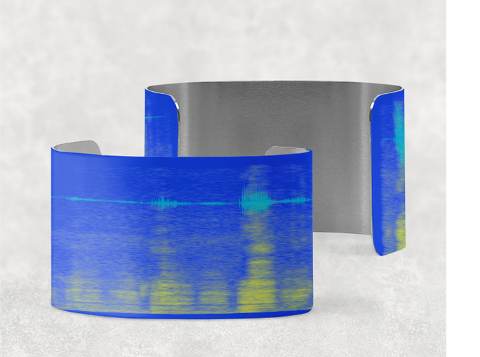 Sound Shadow Cuff Bracelet - Elegant Design