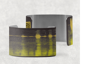 Your Sound on a Cuff Bracelet - Scannable