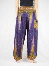 Load image into Gallery viewer, Peacock 42 women harem pants in Purple PP0004 020042 03