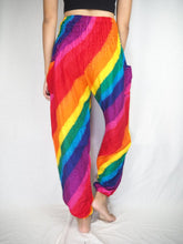 Load image into Gallery viewer, Rainbow 47 women harem pants in Rainbow PP0004 020047 01