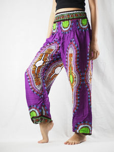 Regue 90 women harem pants in Purple PP0004 020090 04