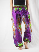 Load image into Gallery viewer, Regue 90 women harem pants in Purple PP0004 020090 04