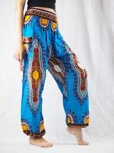 Load image into Gallery viewer, Regue 90 women harem pants in Blue PP0004 020090 06