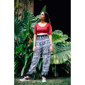 Urban Print 1 women harem pants in Green PP0004 020001 05