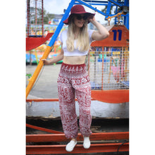 Load image into Gallery viewer, Urban Print 1 women harem pants in Red PP0004 020001 06