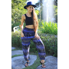 Load image into Gallery viewer, Paisley Buddha 2 women harem pants in Navy blue PP0004 020002 01