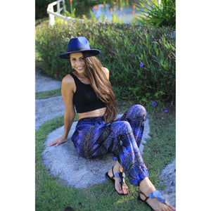 Paisley Buddha 2 women harem pants in Navy blue PP0004 020002 01