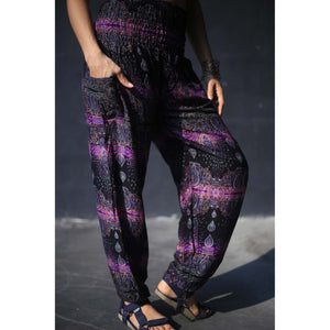 Paisley Buddha 2 women harem pants in purple PP0004 020002 06