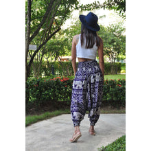 Load image into Gallery viewer, Imperial Elephant Unisex Aladdin drop crotch pants in Navy PP0056 020005 01