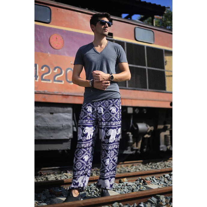 Imperial Elephant 5 men/women harem pants in  Navy PP0004 020005 01