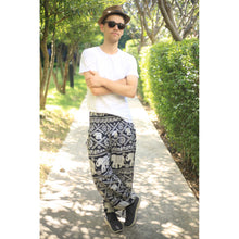 Load image into Gallery viewer, Imperial Elephant 5 men/women harem pants in Black PP0004 020005 05