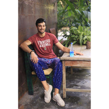 Load image into Gallery viewer, Peacock 7 men/women harem pants in Navy Blue PP0004 020007 05