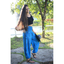Load image into Gallery viewer, Paisley Mistery 16 women harem pants in Blue PP0004 020016 04