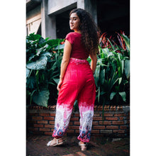Load image into Gallery viewer, Solid Top Elephant 17 men/women harem pants in Pink PP0004 020017 01