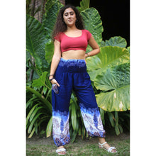 Load image into Gallery viewer, Solid Top Elephant 18 Men/Women harem pants in Navy PP0004 020018 04