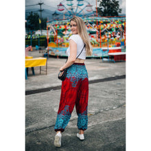 Load image into Gallery viewer, Princess Mandala Women Harem Pants in Red PP0004 020030 01