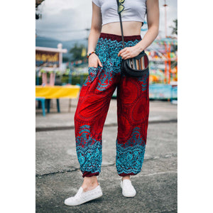 Princess Mandala Women Harem Pants in Red PP0004 020030 01